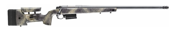 Back in Stock! Bergara B14 HMR Hunting and Match Wilderness Rifle B14S382 Bolt Action Rifle, 6.5 Creedmoor 24″ Steel Barrel, Gray Cerakote, Molded Mini-Chassis Synthetic Stock with Omni Muzzlebrake, Right Hand, 1 Mag, 5Rd