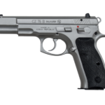 Back in Stock! CZ 91128 CZ 75-B 9mm 4.6″ 16+1 DA/SA Matte Stainless Finish – Ambi Safety – Black Synthetic Grips