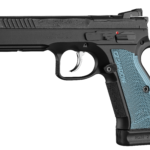 New for Summer 2020! CZ's Shadow 2 Blue 91251 OPTICS READY Single/Double 9mm 4.9 in 17+1 – Fiber Optic Front – Adjustable Rear Sights – Blue Aluminum Grip Black Nitride 3 Magazines