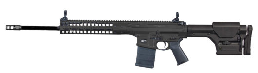 NEW! LWRC REPRMKIIR65B22 R.E.P.R. MKII 22″ 6.5 Creedmoor 20+1 PISTON, Tunable Gas Block, Geissele Trigger, LWRC Skirmish Sights, Magpul PRS Stock – Black
