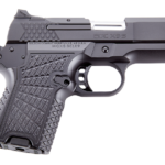 Back in Stock! Wilson Combat EDCXSC9 1911 EDC X9 Single Action Double Stack Sub-Compact 9mm 3.25″ 10+1 and 15+1 Black G10 Grip Black Stainless Steel and Alloy – Case