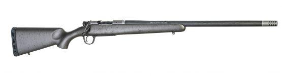 New! Christensen Arms RIDGELINE TITANIUM Special Edition 6.5 Creedmoor – 22 in 4+1 Titanium Action with Natural Bead Blast Finish – Carbon Fiber Wrapped Barrel – Threaded – Muzzlebrake