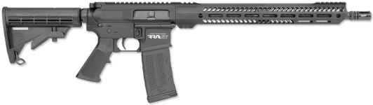 Back in Stock – New Model! Rock River Arms RRAGE 3G 556 NATO/223 Rem 30+1 16in Chrome Moly Barrel RRA 6-Pos Stock RRA M-LOK Handguard – RRA Single Stage Trigger