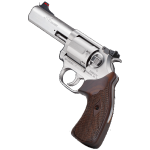 New! for Kimber K6S DASA TARGET – 4 inches – 357 Magnum – Brushed Finish Stainless Steel – 6-Shot -Adjustable Compact Sight – Walnut Grip