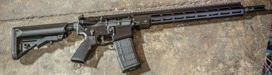 New! Geissele Automatics 08-188LB Super Duty 556 NATO 16″ 30+1 Luna Black manganese Phosphate Finish B5 Enhanced Sopmod – MK16 Super Modular Rail (M-LOK)