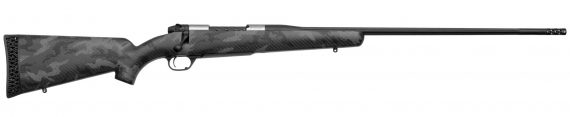 New! Weatherby MBT01N65CMR4B Mark V BACKCOUNTRY TITANIUM 22″ 6.5 Creedmoor – Ultra Lightweight 4.9lb – Steel Threaded Barrel with Muzzlebrake – Titanium Receiver – Carbon Fiber Stock – TriggerTech trigger – SUB MOA Guaranteed