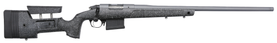 NEW! BERGARA BPR20-65MCHB PREMIER HMR PRO Heavy Barrel 6.5 Creedmoor 24 inches Threaded 5+1 Adjustable Mini Chassis Stock – All Stainless Steel – Cerakoted