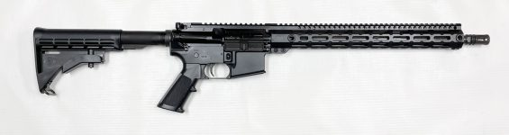 New 2021 Model! FN 36-100608 FN 15 SRP Gen2 Semi-Automatic 556 NATO 16″ 30+1 M-LOK 6-Position Collapsible Stock – Black