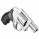 Back in Stock! Smith & Wesson 163810 642 Airweight 38 S&W Spl +P 5rd 1.88″ Stainless Matte Silver Aluminum Black Polymer Grip