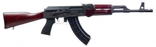 New! Century Arms RI4335N VSKA AK 7.62x39mm 16.50″ 30+1 Enhanced Trigger Group Black Phosphate – Russian Redwood Furniture – Black Polymer Grip 1 30rd Magazine – American Made
