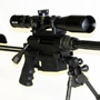 "Nemesis Vanquish ""Backpack"" in 308 Winchester with a 20 inch barrel and a Schmidt and Bender 4-16x42 PMII P4F scope."