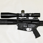 LWRC R.E.P.R. with the state-of-the-art Schmidt and Bender 4-16x50 PMII P4 fine reticle.