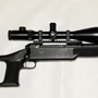 Customized Savage 308 with the excellent Nightforce Benchrest 12-42x56 .125 MOA NP-2DD.