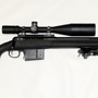 Great long range combination: Savage 110 FCP in 338 LAPUA with HS Precision Stock, Fluted Barrel and Muzzle Brake with a Nightforce NXS 8-32x56 NP-R1.