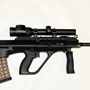 Our first Steyr AUG sold in the store! The only thing we got in common with Hollywood is the love for this gun.