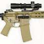 One of the few limited edition LWRC M5-IC with a Nightforce 1-4x24 FC-2 also in a GG&G quick detachable mount.