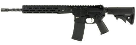 Back in Stock! LWRCI-ICDI M-LOK Direct Impingement 556 Nato/223 Win 16in 30+1 – Spiral Fluted – Collapsible Stock M-LOK RAIL – BLACK