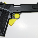 New! Nighthawk Custom – GA Precision GOV 45 ACP LIMITED EDITION CUSTOM. Threaded Barrel, Tall Heinie Sights, GA and NHK Logos. Custom Specs. Diamond Black Finish and VZ Ragnarok grips