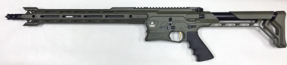New! COBALT KINETICS B.A.M.F. EDGE – Green/Black 223 Rem/556 NATO – 16 inches – Case