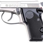 Back in stock! Beretta J212500 2021 Bobcat Inox 22LR 2.4″ 7+1 Black Synthetic Grip Gray/Stainless Steel