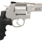 New Model! Smith & Wesson 11759 PERFORMANCE CENTER® 686 357 Mag 4″ 6rd – Adjustable Sight – Unfluted and Ribbed – Stainless