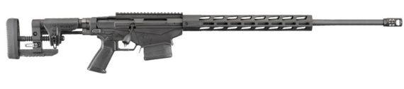 Back in Stock – Gen 3! Ruger Precision Rifle 18029  – 2018 Gen 3 Model – 6.5 Creedmoor – 24 inches 1:8 – MSR Folding Stock – Adjustable Trigger – Threaded – Hybrid Muzzlebrake – 20MOA Rail – M-LOK Handguard