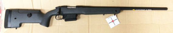 LAST UNIT FOR THIS YEAR -New Model Fall of 2018! BERGARA BPR19-65F PREMIER LONG RANGE 6.5 Creedmoor 24 inches Threaded 5+1 TriggerTech – Carbon Fiber Stock with Integrated Mini Chassis – Soft Case