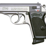 Back in Stock! Walther PPK/S Semi-automatic Pistol 380ACP 3.35 in – Stainless Steel – Fixed Sights, 7Rd – 2 Magazines