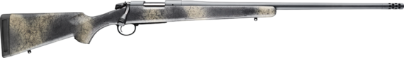Back in Stock! Bergara B14 HMR Ridge Wilderness Rifle B14S522 Bolt Action Rifle, 6.5 Creedmoor 22″ Barrel, Sniper Gray Cerakote, Wilderness Synthetic Stock, Omni Muzzlebrake, Right Hand, 4rd