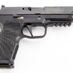 New! Wilson Combat SIG WCP320F9BATS 9mm 4.70″ 17+1 Stainless Steel Slide with Black DLC Coating Enhanced Polymer Grip, Action Tuned with Straight Trigger – 2 Mags