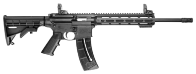 Back in Stock! Smith & Wesson 10208 M&P15-22 Carbine SA 22 LR 16″ 25+1 6 Position Stock Black – M-Lok Rail – Magpul Sights