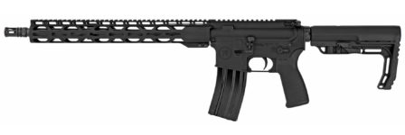 Radical Firearms FR-16 Forged Milspec Rifle, Semi-automatic, 223 Rem/556NATO, 16″ SOCOM Contour Barrel, 1:7 Twist, Black Finish, MFT Minimalist Stock, 1 Magazine, 30Rd, 15″ RPR MLOK Handguard