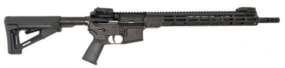 New! ArmaLite M15TAC16 M-15 Tactical 5.56 NATO 16″ 30+1 Black Hard Coat Anodized Black Phosphate Adjustable M-LOK Magpul STR Collapsible Stock Black Polymer Grip