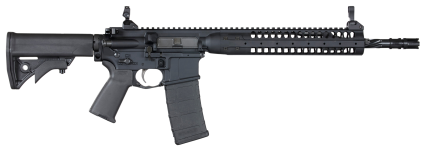 Back in Stock! LWRC ICR5B16SPR Individual Carbine SPR 5.56x45mm PISTON NATO 16.10″ 30+1 Black Anodized, Black Adjustable Stock, Magpul MOE + Grip – Premium LWRD Skirmish Metal Sights