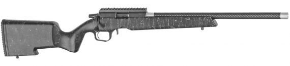 New! Christensen Arms 8011200200 RANGER 22 LR Bolt Action 18 in Threaded Carbon Fiber Wrapped Barrel – Black with Gray Webbing Stock – SUB MOA – Trigger Tech Trigger – 10/22 Compatible Magazine