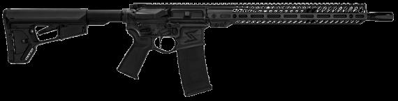 New! Seekins Precision 11300073 NX15 556/223 (223 Wylde) 16″ 30+1 Blax Oxide – 6-Pos Carbine Stock M-LOK Ambidextrous