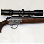 This versatile Blaser is equipped with a left hand bolt and a 416 Remington Magnum barrel.