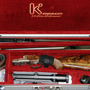 One rifle solution to an African safari. A Krieghoff Classic with two set of double barrels. A 470 Nitro pair with iron sights and a 375 H&H pair with both iron sights and a detachable scope.