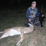 "We were able to help in a customer's dream becoming true thanks to his courage and the unbelievable clarity and intense illumination of the Swarovski Z6i scopes. Here is his story: ""I am sending you a picture of the 9 pointer that I shot on Nov 16, 2012 at my ranch in Fayette County.  I know a 9 pointer is not a trophy deer, but it's a great accomplishment for me because I'm legally blind.  It's my first deer and probably my last since my vision is getting worse as the years go by.  I shot the deer with my left side because I'm totally blind on my right eye, which is also a disadvantage for me.  I've always wanted to shoot me a deer, but hesitated because of my vision problem.  Now, I'm glad I finally got the courage to try it out....it paid off! I did the impossible! Benny V."""